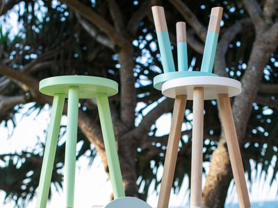 Green Cathedral stools