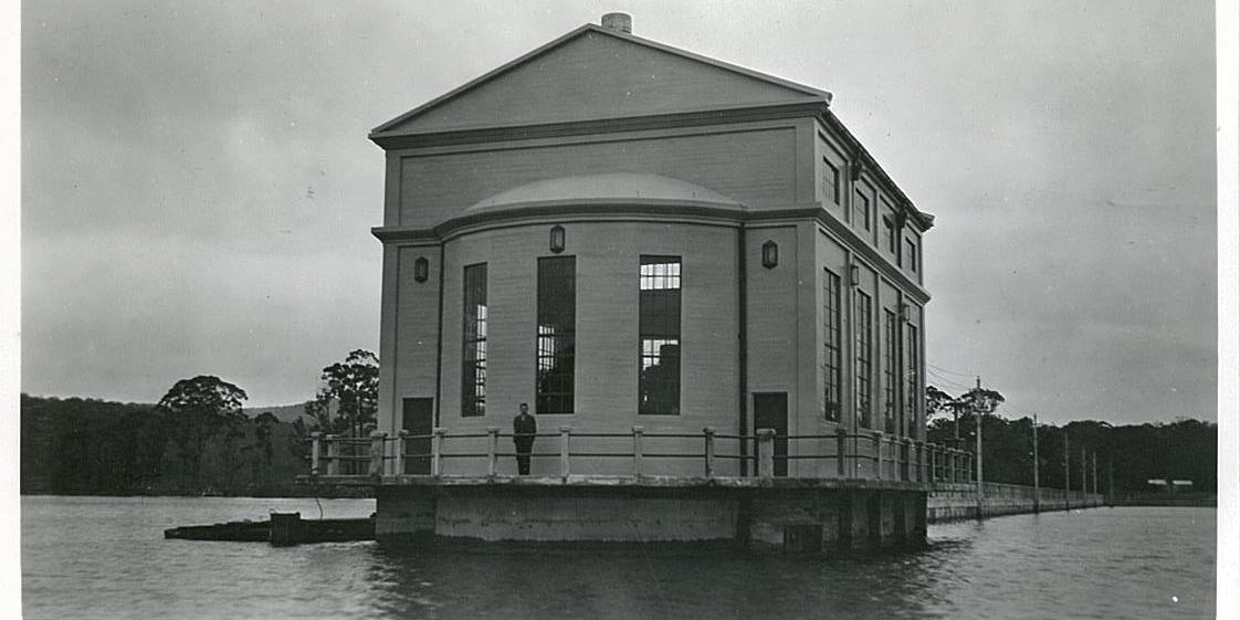 Pumphouse Point historic image