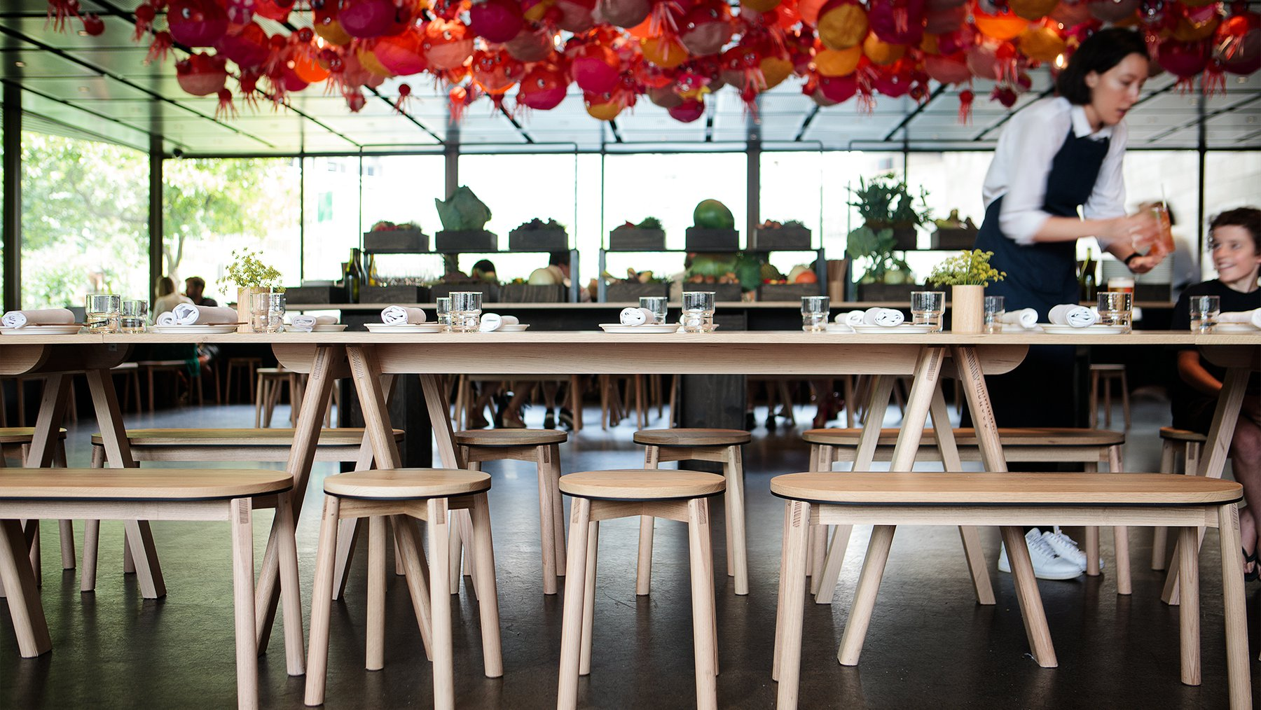 Relm Furniture at Supernormal Restaurant