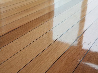Tasmanian Oak Floor at Compassion House