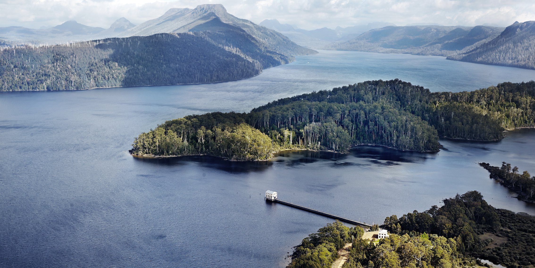 Pumphouse Point aerial