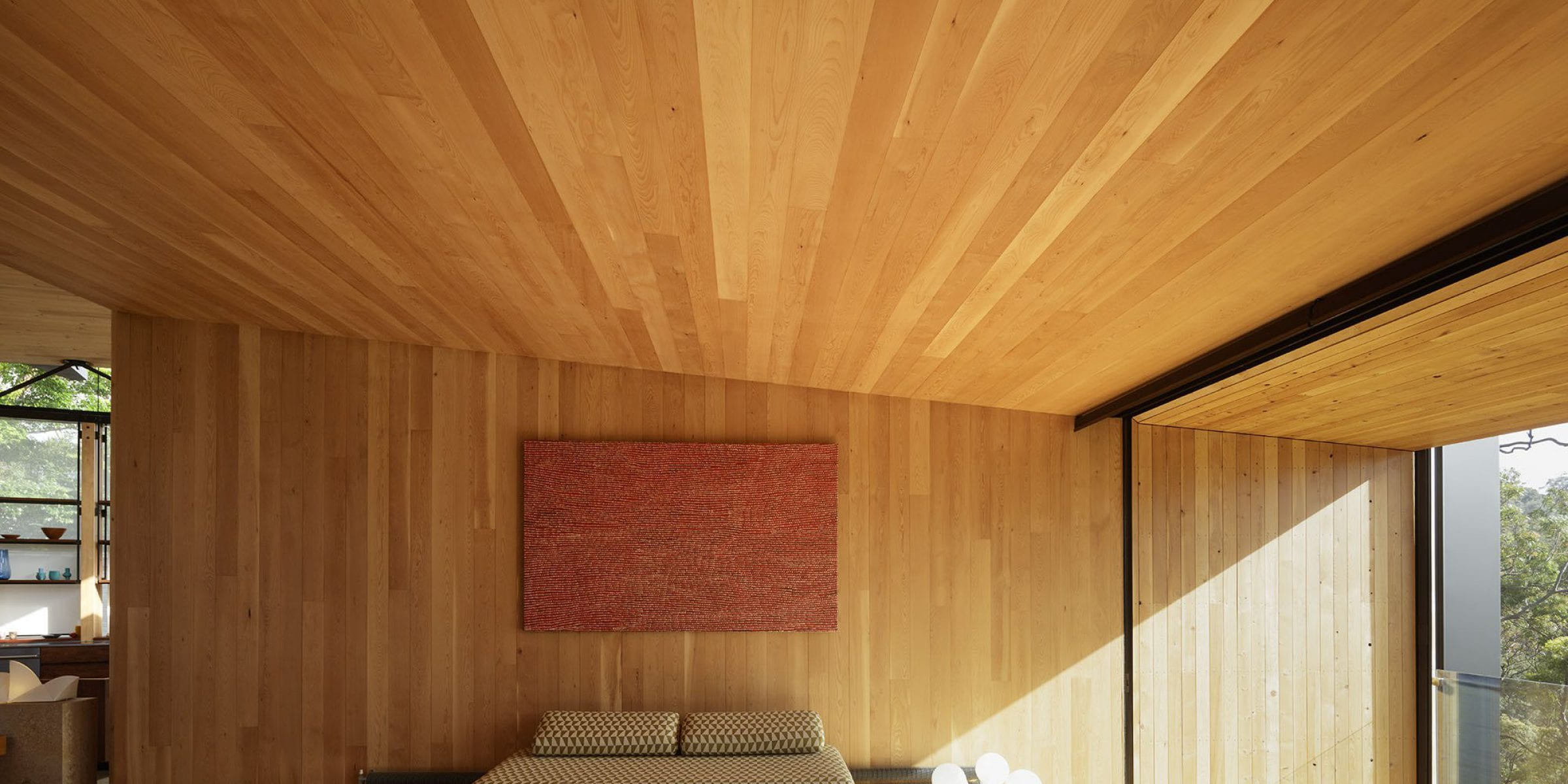 Tasmanian timbers help create a space of refined comfort