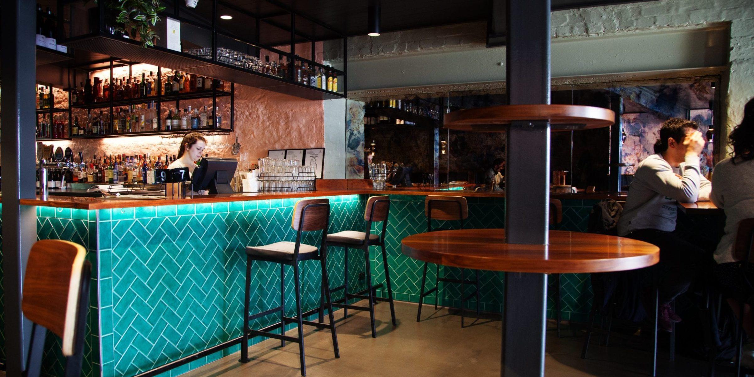 The Blackwood bar at Phat Fish