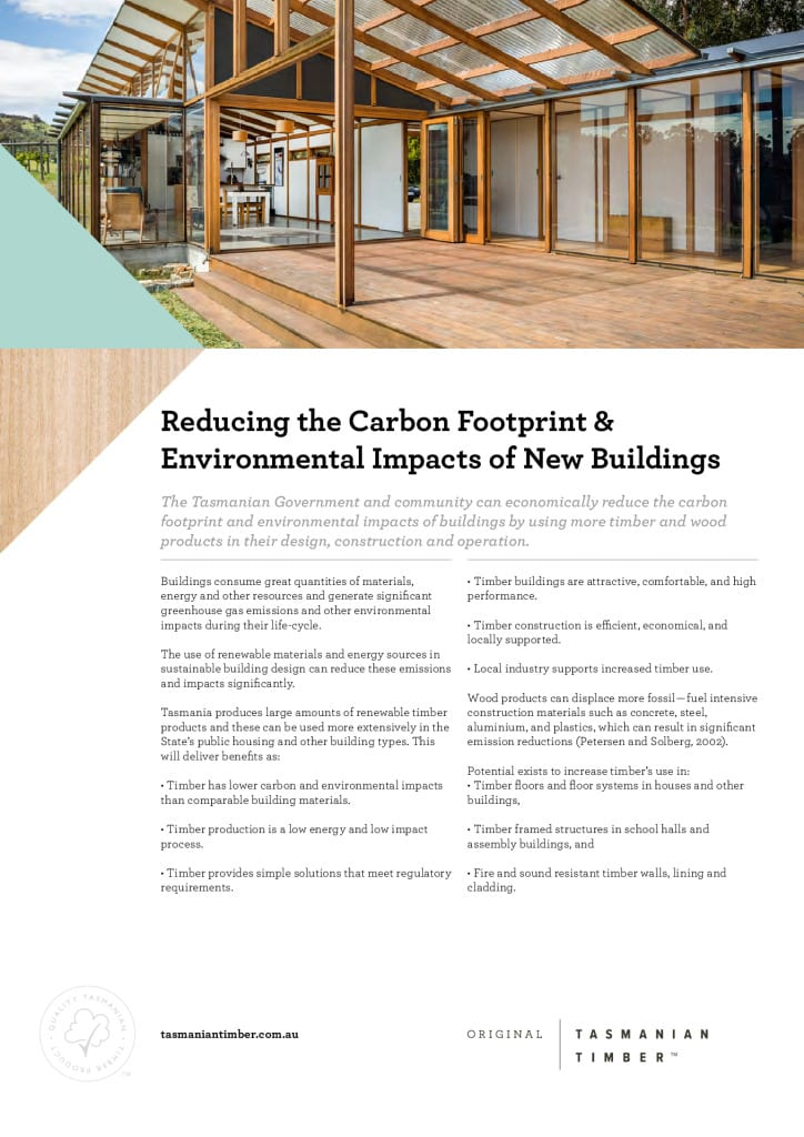 Benefits of Timber in New Buildings