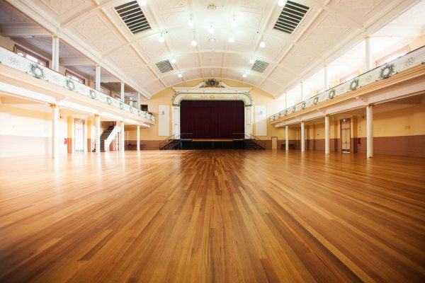 Re-imagining Hobart City Hall with a floor fit for a Queen
