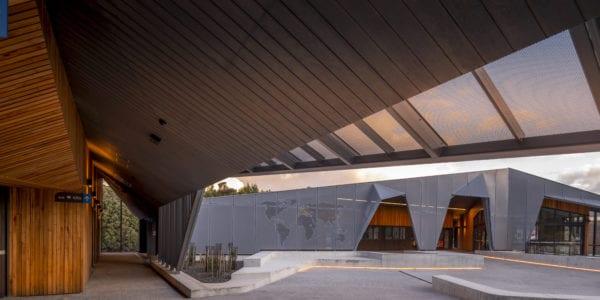 Into the wild, Cumulus Studio reveals Poetic Vision at Cradle Mountain Visitor's Centre