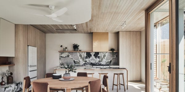 A beacon of tranquility, Tasmanian Oak shines in the Lantern House by Timmins + Whyte