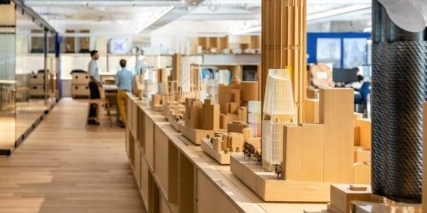 Tasmanian Oak delivers the wow factor in fitzpatrick+partners new Sydney CBD office